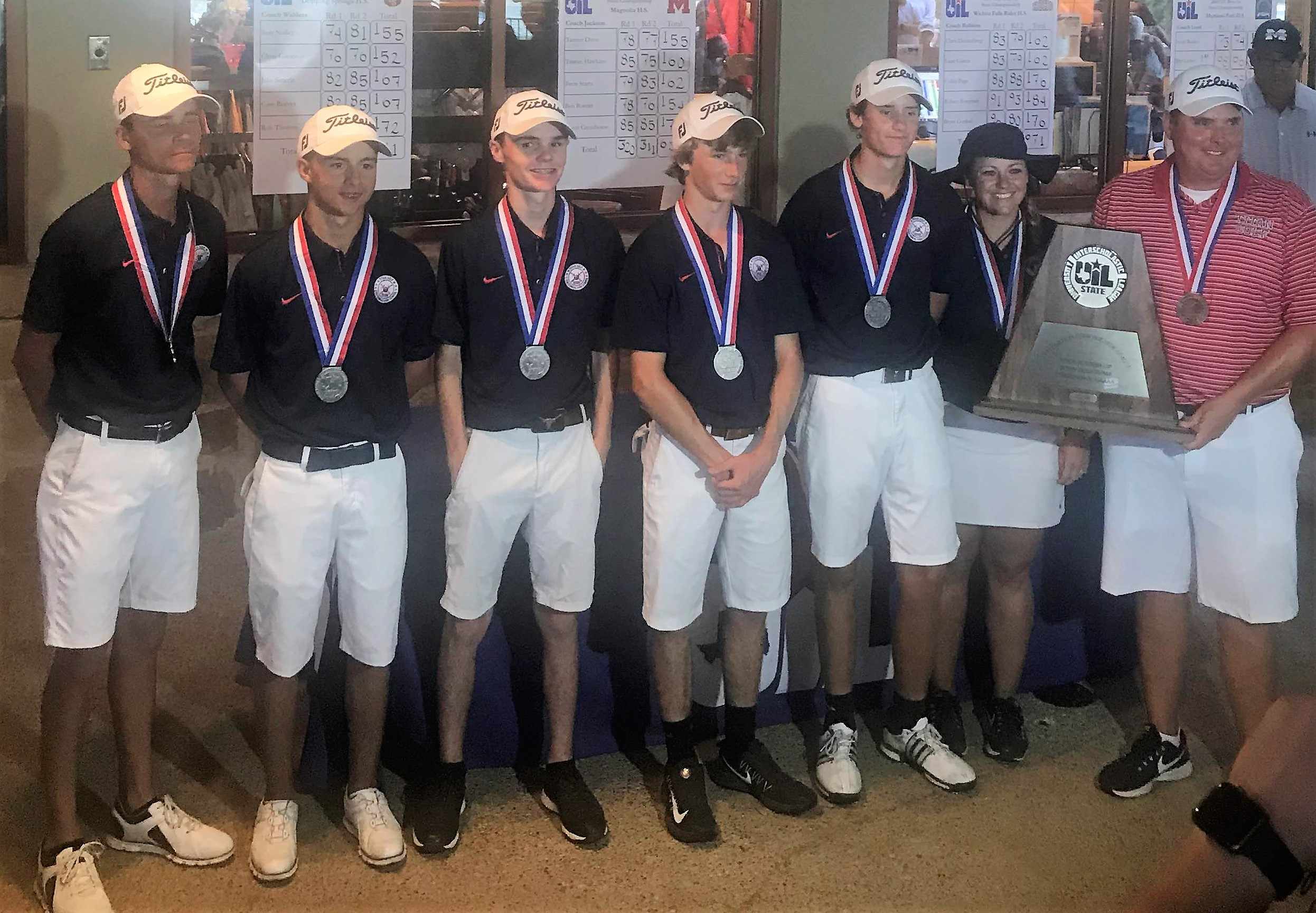 The Centennial High School Boys Golf Team