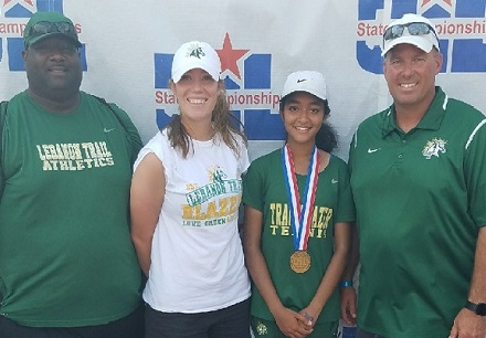 FISD Tennis Players Bring Home Medals from State Tournament