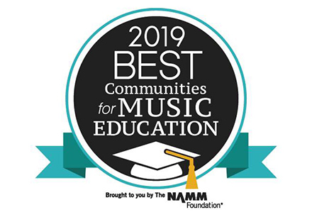 Frisco ISD Named a 2019 Best Community for Music Education
