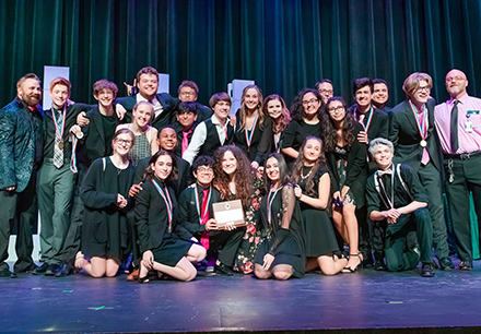 Frisco High School One Act Play Steps Up to State