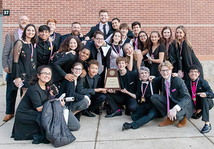 Frisco High School One Act Play Preps for Regionals