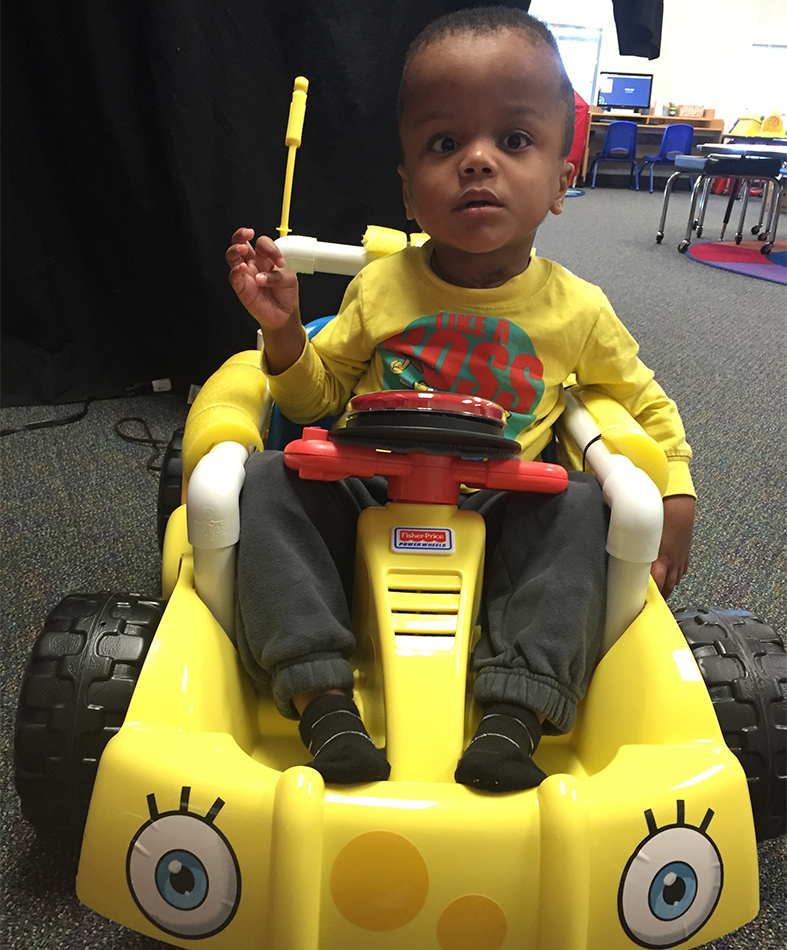 GoBabyGo! Car Inspired Grant at Early Childhood School
