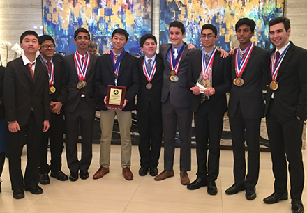 Lebanon Trail Wins First Place in State Academic Decathlon
