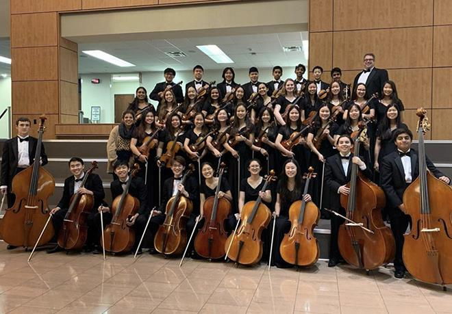 Lebanon Trail Orchestra Places at the String Honor Competition