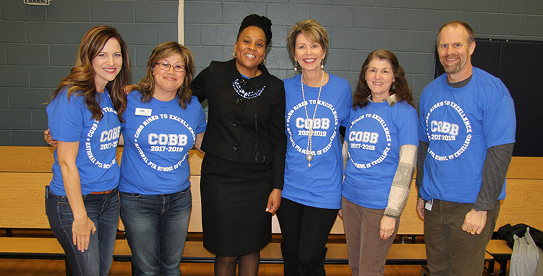 Cobb Hosts Guests from Texas and National PTAs