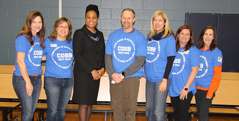 Current and Former Cobb Principals and PTA Presidents