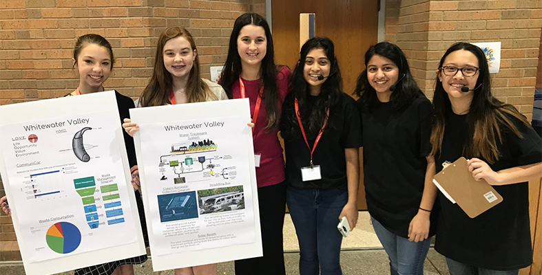 Pearson Middle School Future City Team Bound for National Competition