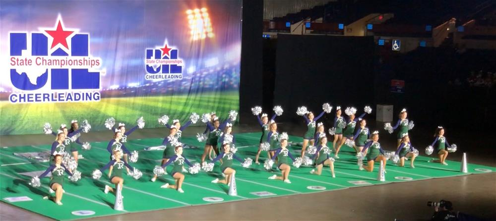 Reedy Cheerleaders at Spirit Championship Contest