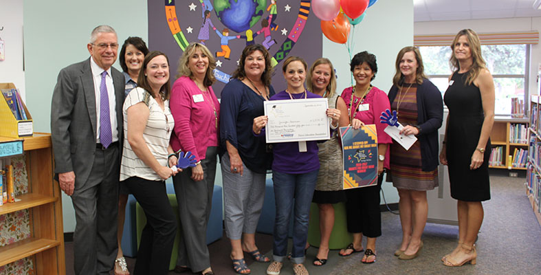 Librarian Jennifer Haveman is a Grant Winner at Borchardt Elementary