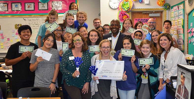 Kimberly Church Wins Grant for LTHS 360 at Lebanon Trail High School