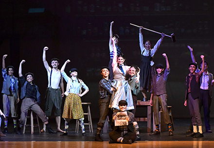 Frisco ISD Thespians Recognized at Dallas Summer Musicals