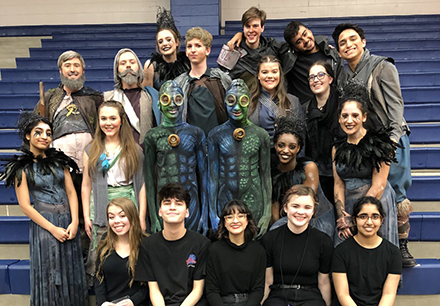 Six High Schools Zoom from Zone to District in One Act Play Contest