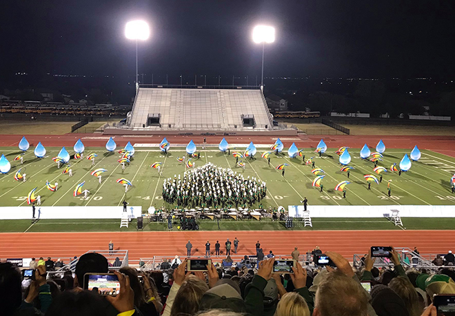 Frisco ISD Marching Bands Headed to State Competition