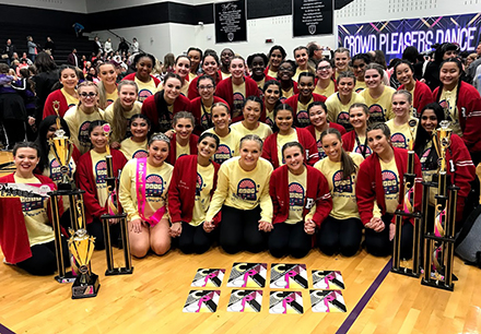Dance and Drill Teams Win Grand Champion Awards