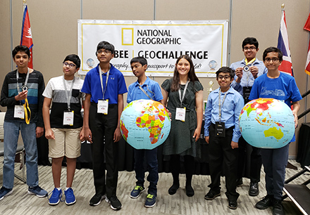 Middle Schoolers Show Their Smarts at State GeoBee