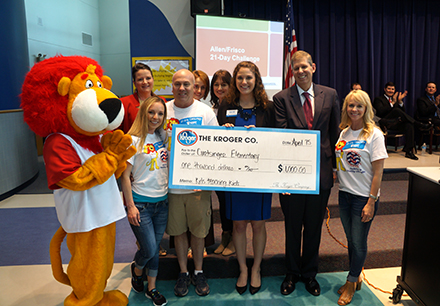 Frisco ISD Recognized for Healthy Snacking Initiative