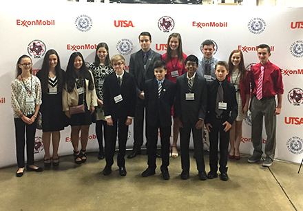 Middle School Students Place at Texas Science & Engineering Fair