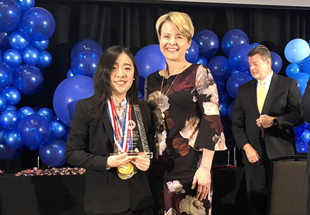 FISD Student Sets National Academic Decathlon Record