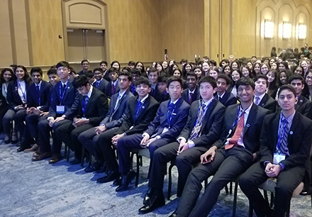 Over 100 DECA Students Qualify for International Conference