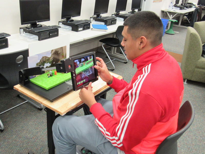 Student explores stop  motion animation with Frisco Library program