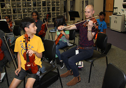 Fine Arts Facility Promises Student-Centered Opportunities